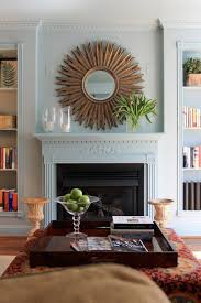 mirror over fireplace fireplace decor