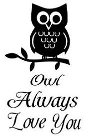 Owl Always Love You Wall Decal Words Lettering Quote Baby Nursery Kids Sticker Ebay