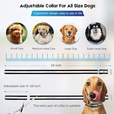 335792420 Wireless Dog Fence Electric Training Collar 2 In 1 Dual Antenna Adjustable Range Control 100 990 Ft Rechargeable For 2 Dogs Home Garden Pet Products