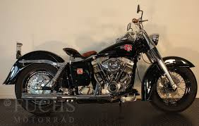 harley davidson flh duo glide old style