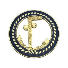 Masonic Car Emblem 3 Gold Plated Blue Lodge Cane Auto Truck Motorcycle Decal Wish