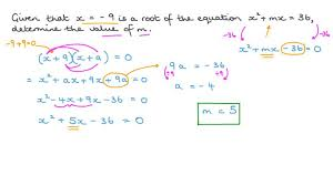 lesson solving quadratic equations by