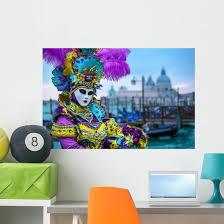 Venice Carnival Wall Decal Wallmonkeys Com