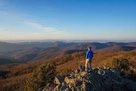 View From Bearfence Mountain Shenandoah National Park Va Shenandoah National Park National Parks Charlottesville