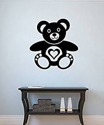 Buy Teddy Bear Vinyl Decal Teddy Bear Wall Sticker Nursery Wall Decor Wall Art Decorations 5tybr In Cheap Price On Alibaba Com