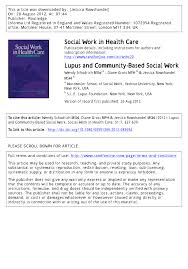 pdf lupuunity based social work