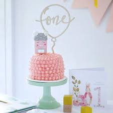 Healthier Pink Smash Cake For Baby S First Birthday