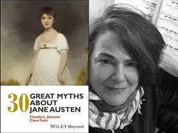 """Faculty Author Q&A: Claudia Johnson on """"30 Great Myths about Jane Austen"""" —  Princeton University Humanities Council"""