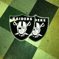 2 Oakland Raiders Cornhole Board Decals New 14 X13 Bean Bag Toss 351791412
