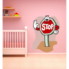 Shop Full Color Stop Sign Full Color Decal Full Color Sticker Colored Stop Sign Sticker Decal 48 X 65 Free Shipping Today Overstock 15887619