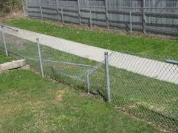How Do I Repair A Chain Link Fence Home Improvement Stack Exchange