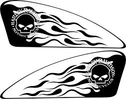 Harley Decals Airbrush Gas Tank Stencils Vinyl Tank Drawing Harley Davidson Art Biker Art