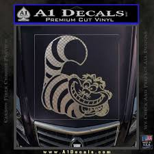Cheshire Cat D2 Decal Sticker Alice In Wonderland A1 Decals