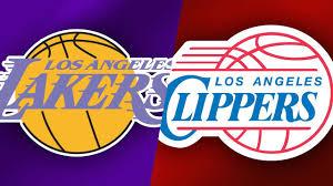 NBA La Clippers vs Los Angeles Lakers ...