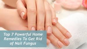 home remes to get rid of nail fungus