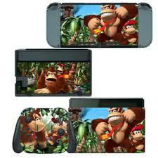 Nintendo Switch Skin Decal Sticker Vinyl Wrap Donkey Kong Country Returns Ebay