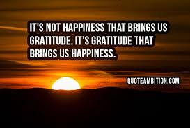 gratitude quotes and be grateful sayings