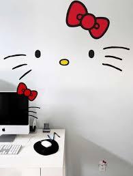 Famous Feline Furnishing Stickers Hello Kitty Rooms Hello Kitty Bedroom Hello Kitty Bathroom