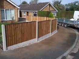 Double Sided Feather Edge Vertelap Fence Panel 5 Foot Ebay
