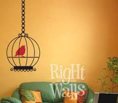 Bird Cage Wall Decals Vinyl Art Stickers