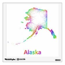 Alaska Wall Decals Stickers Zazzle