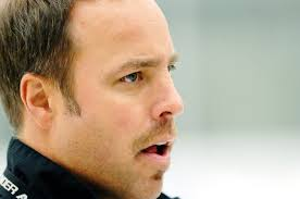 U of Regina Cougars head coach Todd Johnson hockey practice at the ...