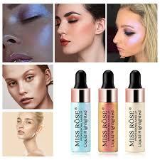 miss rose highlight face contour liquid
