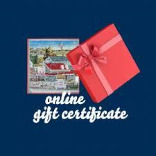 lobster gift certificates order