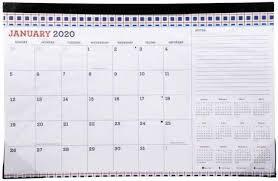 "JOT 2020 Monthly Desk Pad Calendar 11"" X 17"" for sale online | eBay"