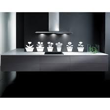 Shop Landscape Flower A Plant Tree Pots Kitchen Wall Art Sticker Decal White Overstock 11857446