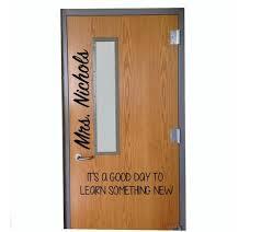 Classroom Door Vinyl Teachwithtech Com