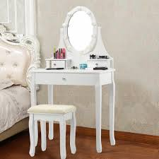 narelle 3 drawer makeup vanity set