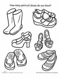 Kleurplaat Schoenen Afbeelding Google Zoeken Schoenen
