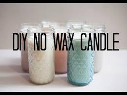 diy no wax candle you