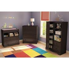 South Shore Savannah 4 Drawer Espresso Chest 3519034 The Home Depot