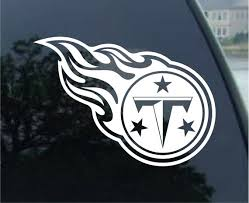 Tennessee Titans Vinyl Decal Car Window Mirror Bumper Etsy