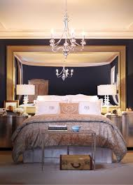 cool ideas to use mirrors as headboard