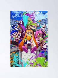 Amazon Com Cactuss Kid Splatoon Tentatek Squid Top Trending Funny Wall Art Gift Poster For Friend 2019 Posters Prints