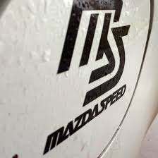 Product Mazda Speed Decal Fuel Tank Cap Door Vinyl Decal Sticker