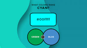 what colors make cyan what two colors
