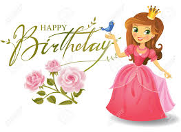 Cumpleanos Princesa Tarjetas De Felicitacion Feliz