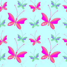 Fondo Transparente Con Brillantes Mariposas De Colores Perfecto