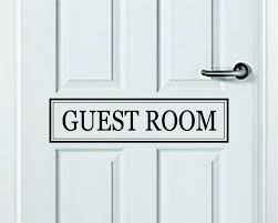 Guest Room Quote Wall Decal Sticker Bedroom Art Vinyl Inspirational Do Boop Decals