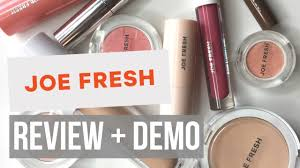 joe fresh beauty review demo you