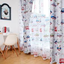 Blackout Curtains For The Bedroom Toy Car Kids Room Curtains Window Blinds For Boys Bedroom Curtains For Children Drapes Curtains Aliexpress