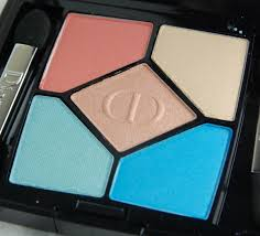 dior 5 couleurs polka dots eyeshadow