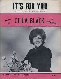 NPG D48360; Sheet music cover for 'It's For You' by Cilla Black ...