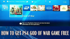 How to Get God Of War [FREE] PS4 Game ...