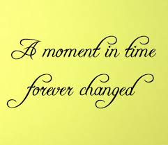 Moment In Time Forever Changed Wall Decal Trading Phrases