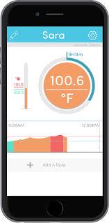 Temptraq Wireless Baby Thermometer Temperature Monitor Temptraq